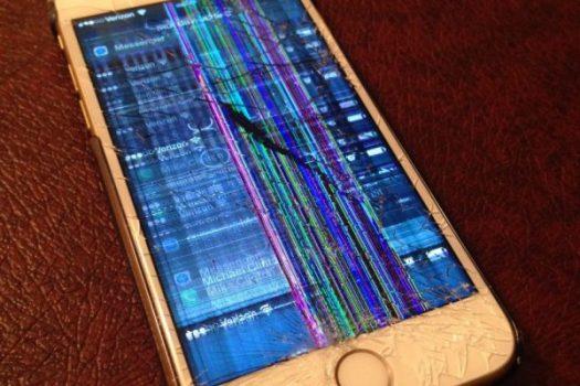 LCD شکسته